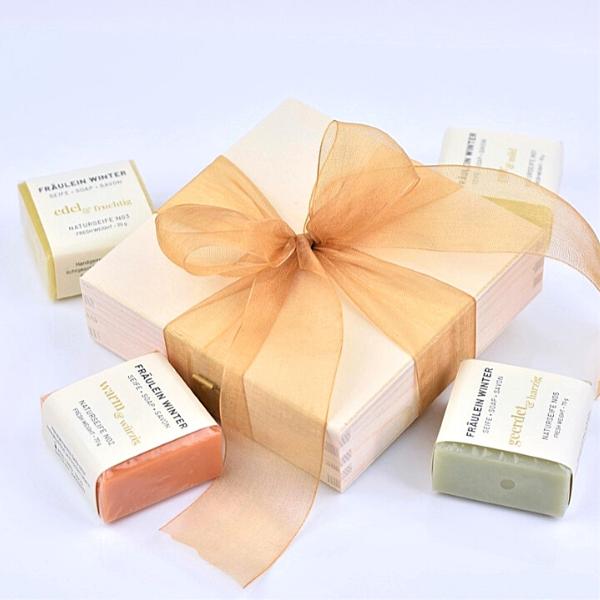 Naturseifen-Geschenkbox