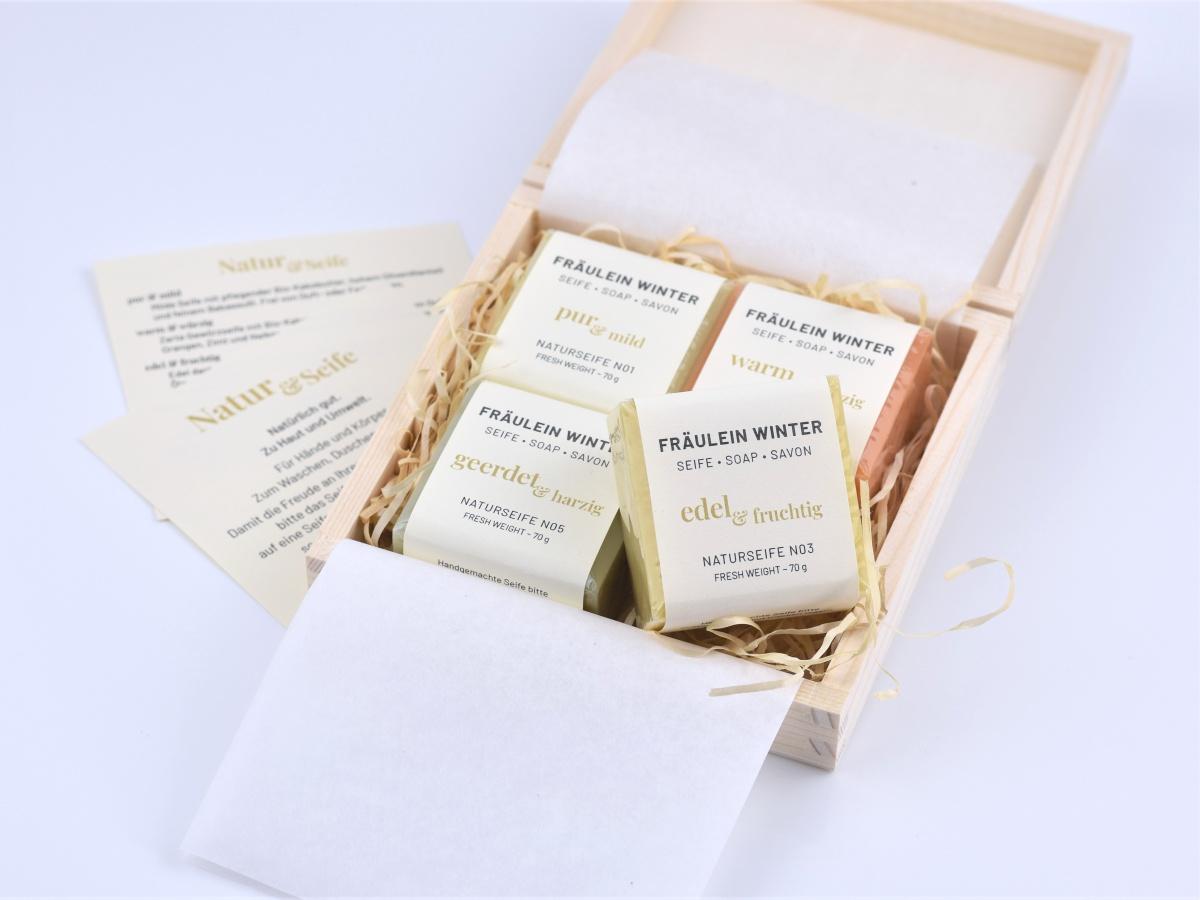 Geschenkbox Natur und Seife