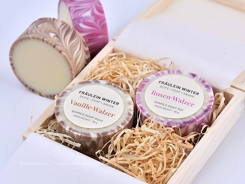 Box Rimmed Soaps
