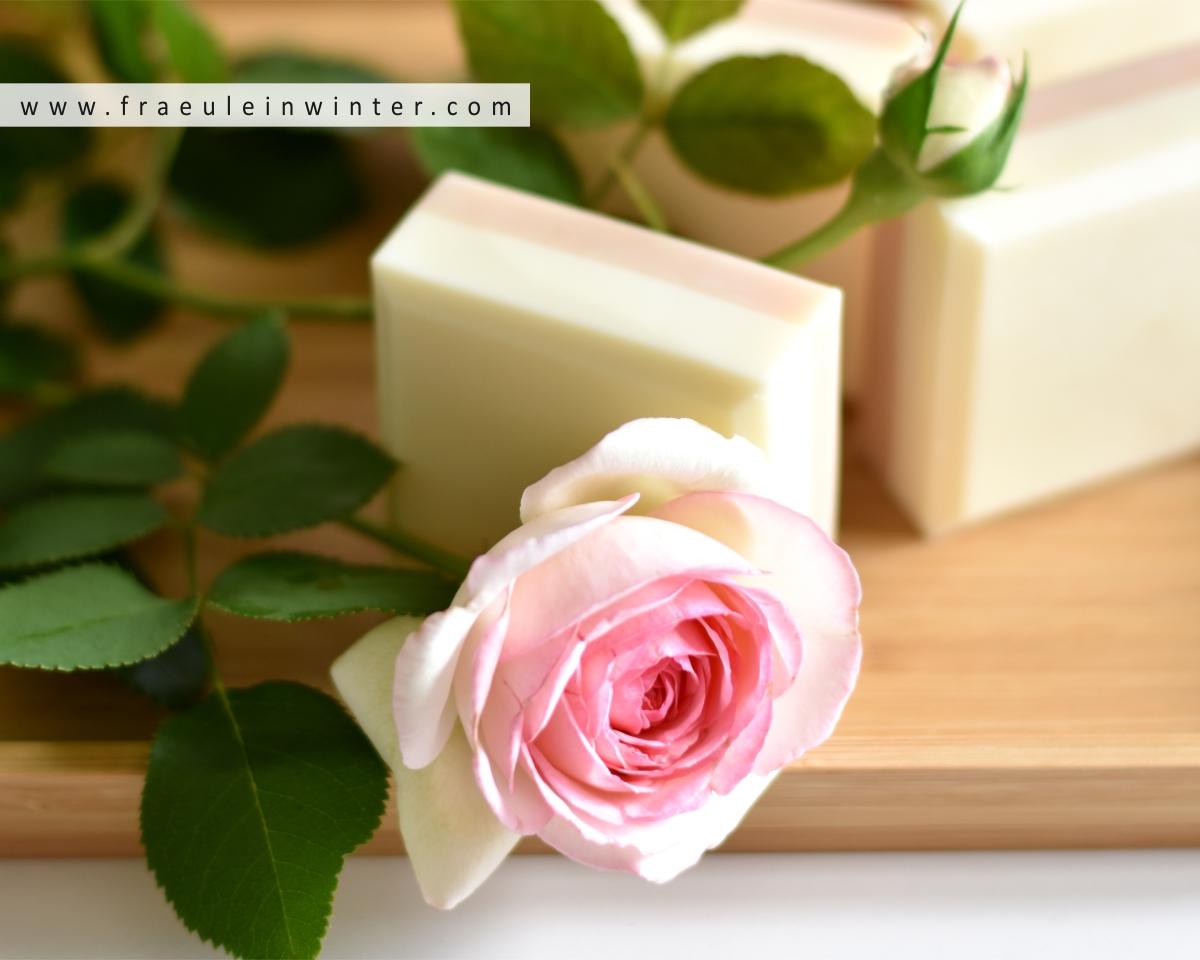 Rosenseife selber machen