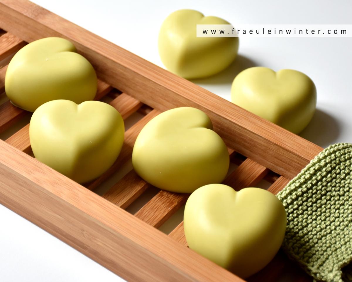 Avocadoherzen - Seife