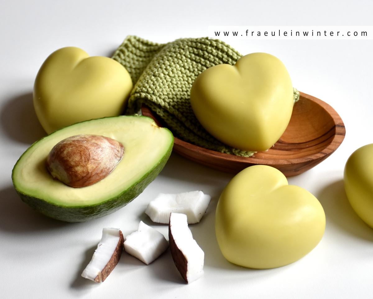 Avocadoseife mit Kokosmilch