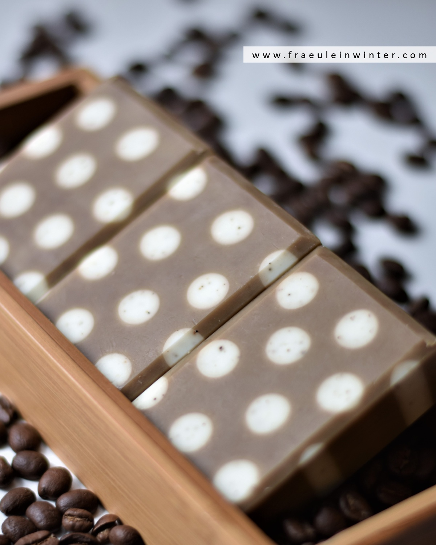 Polka Dots Coffee Soap