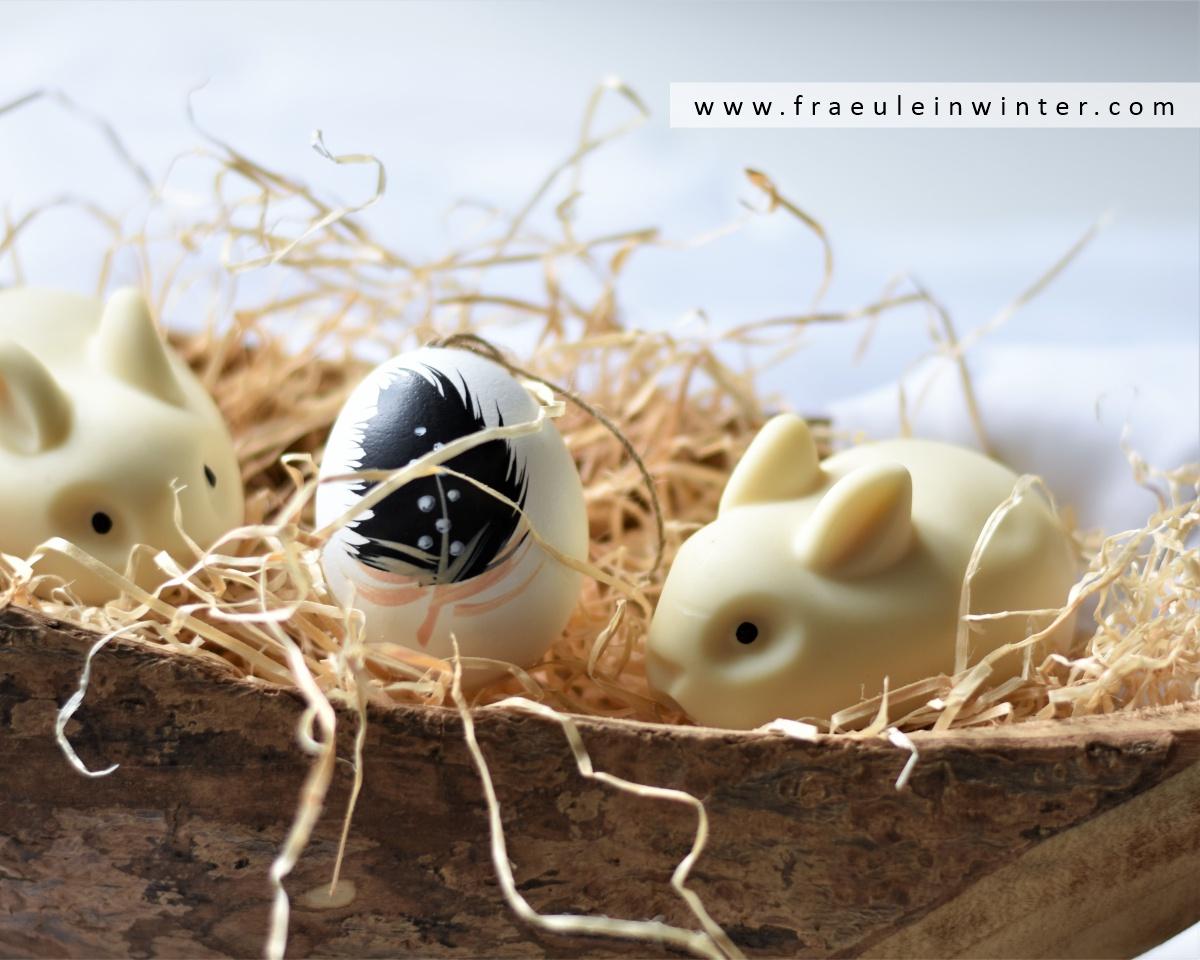Handgemachte Osterhasen-Seife